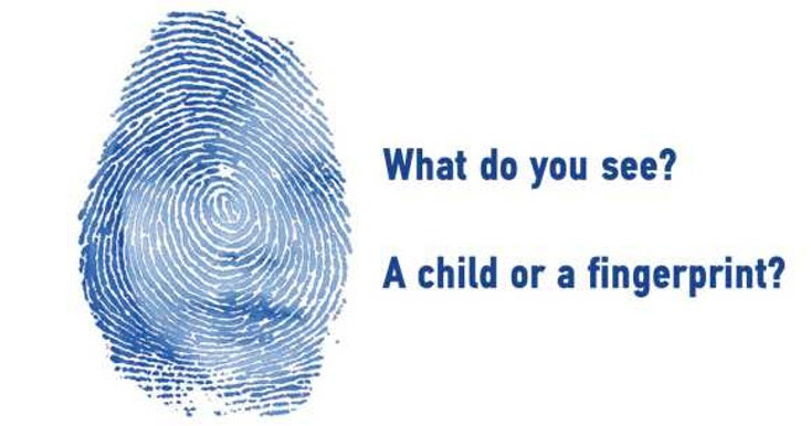 Using coercion to fingerprint children looking for safety is unacceptable