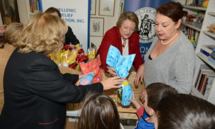 Hellenic Relief Foundation Distributes Easter Meals to Families in Greece for the Seventh Year