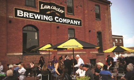 GREEK AMERICAN CEO OF LANCASTER BREWING MAKES CAN MOVE