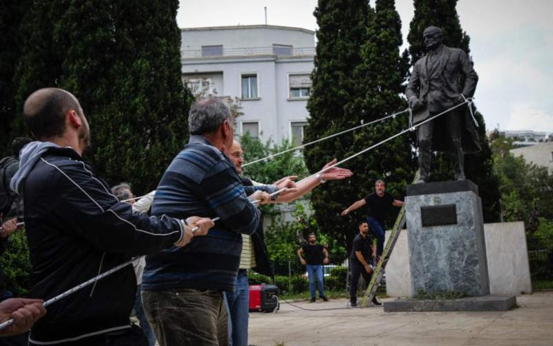 AHEPA Denounces Attempted Vandalism of Truman Statue