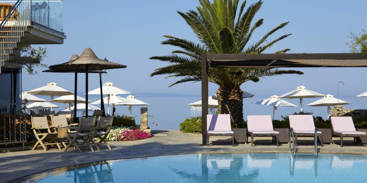 ANTHEMUS SEA BEACH HOTEL AND SPA:  A GARDEN OF EDEN ON HALKIDIKI'S SECOND PENINSULA