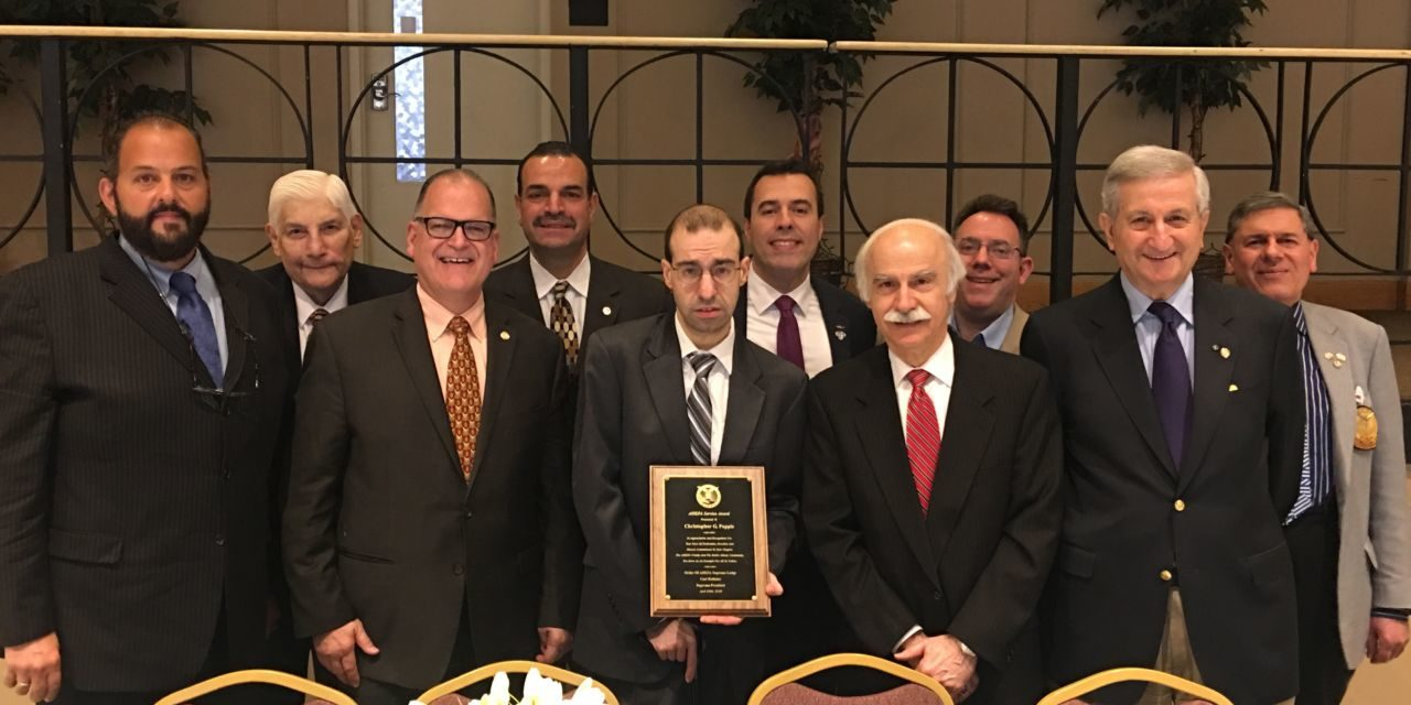 Albany Sons of Pericles, honors AHEPAN, Chris Pappis