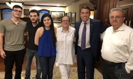 Greek Americans host reception in honor of Michael Grimm, Republican Candidate 2018 – 11th District of New York