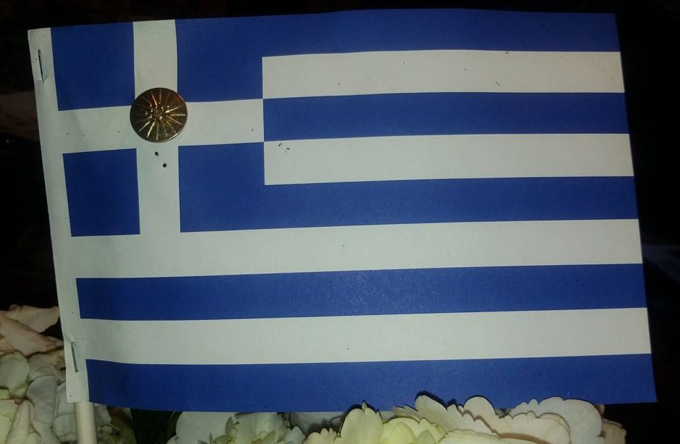Ancient Symbol On Flag Honors Greeces Past Hellenic News Of America