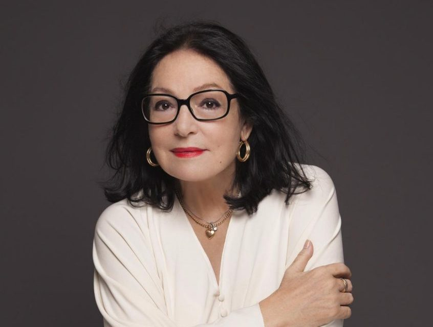 "Best-selling music artist Nana Mouskouri chatted with this Greek-American journalist about her new album ""Forever Young"""