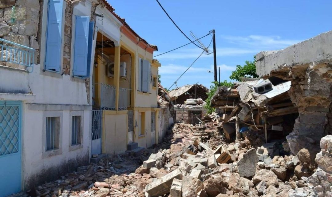 Hellenic News of America Fundraiser Brings Relief to Earthquake Victims of Vrisa on the Island of Lesvos