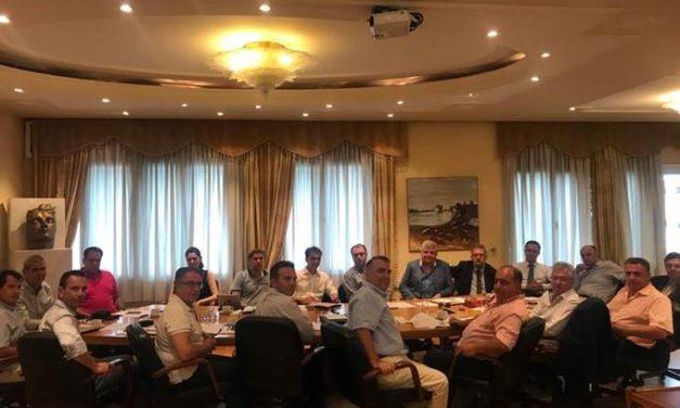 Συνεδρίαση Διοικητικού Συμβουλίου ΣΕΒΕ  στον ιστορικό χώρο του λιμανιού της Θεσσαλονίκης