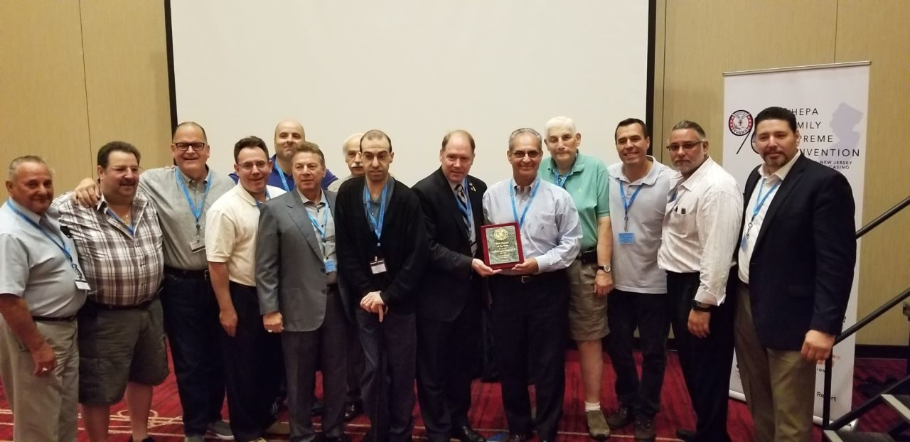 New York, District 6, Recognized as AHEPA's top National District