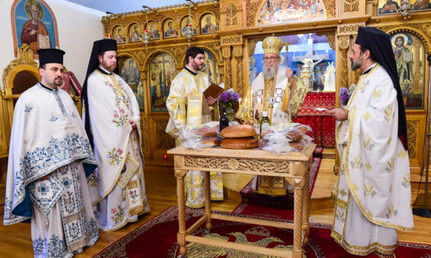 """""""We are Sons and Daughters of Light,"""" says Archbishop Demetrios, on the Feast of the Transfiguration of Christ"""
