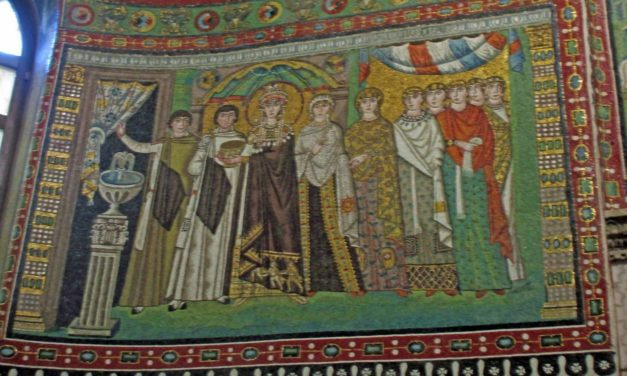 In the Footsteps of Byzantium: Empress Theodora of St. Vitale Basilica