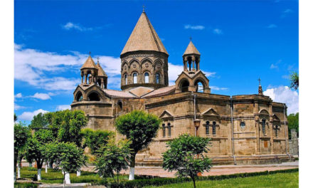 In the Footsteps of Byzantium: Meeting the Catholicos of the Armenian Apostolic Church in Etchmiadzin, Armenia