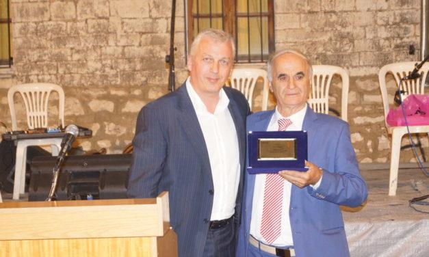 Ο Δήμος Ζίτσας τίμησε το Σάββα Σιάτρα με εκδήλωση στην Τ.Κ. Ζίτσας