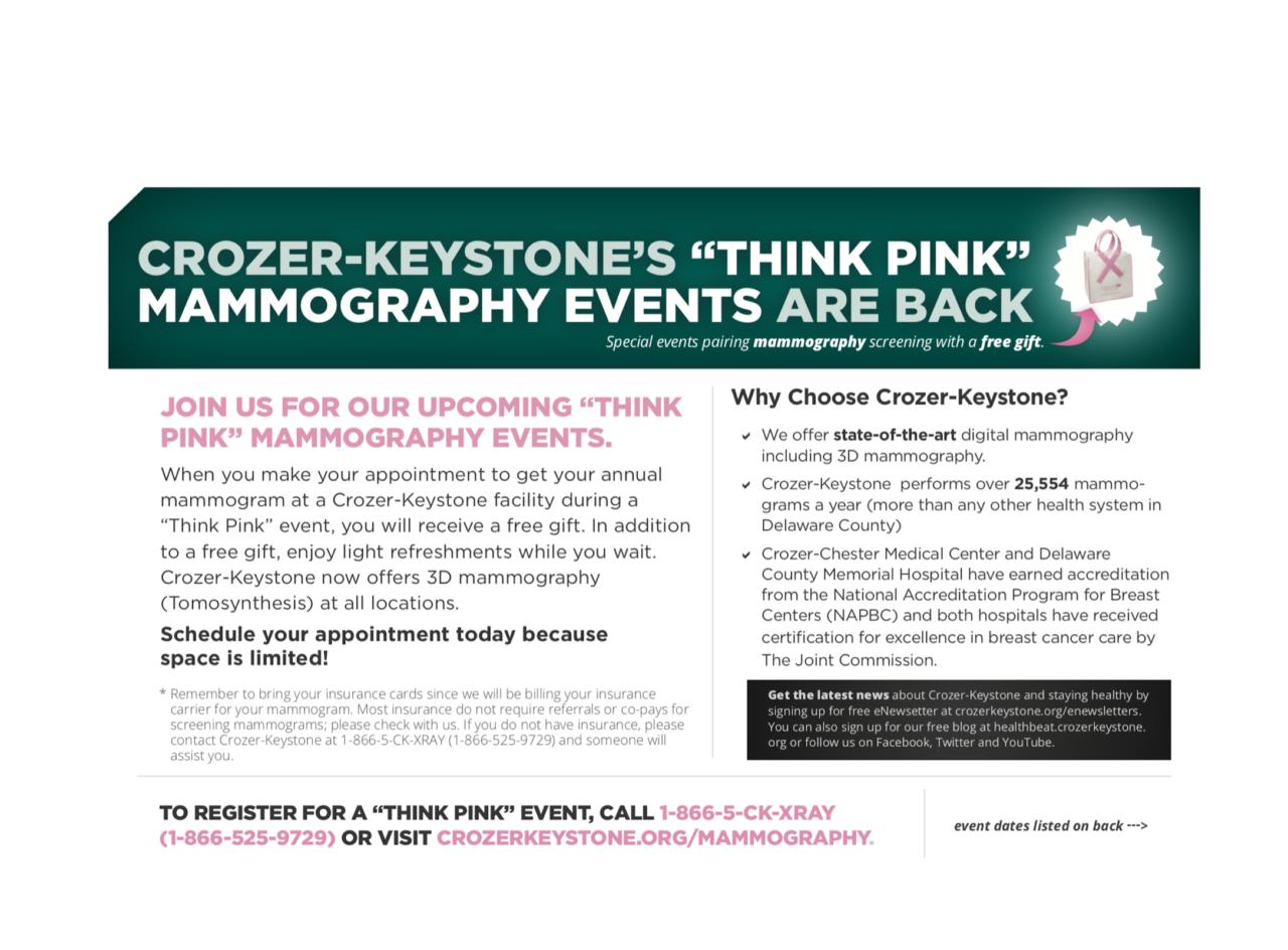 Crozer Keystone Mammo Event Health Fitness Archives Hellenic News America