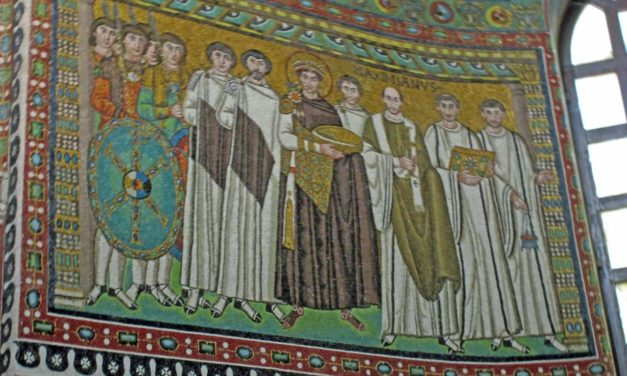 In the Footsteps of Byzantium: Emperor Justinian in the Basilica of St. Vitale