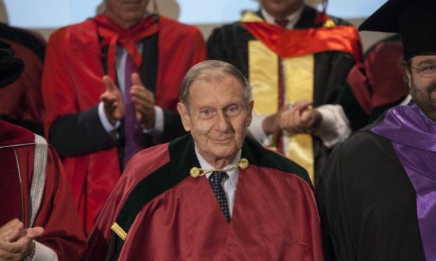 Το Πανεπιστήμιο Λευκωσίας τίμησε τον Καθηγητή Κουφουδάκη