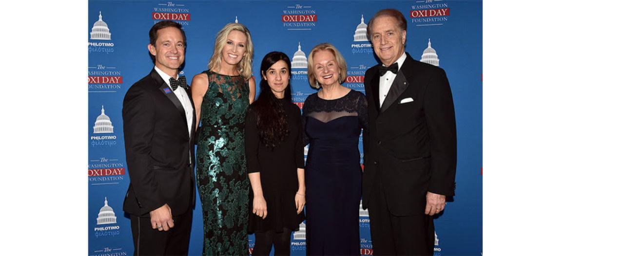 2016 Oxi Courage Award Recipient Nadia Murad Wins 2018 Nobel Peace Prize
