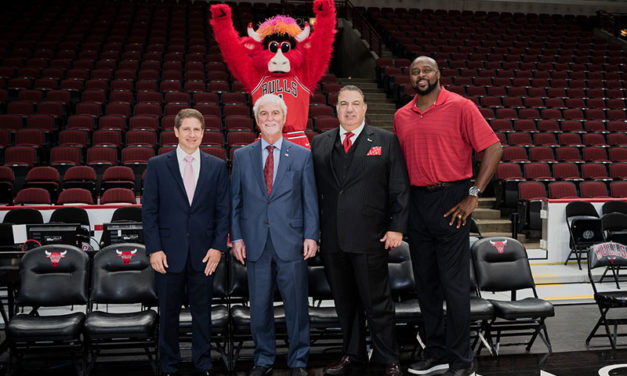 CHICAGO BULLS AND CALAMOS INVESTMENTS ANNOUNCE NEW PARTNERSHIP