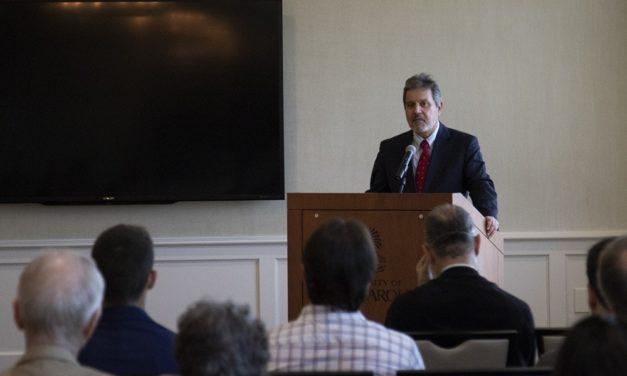 Greek Ambassador to America Haris Lalacos Visits USC Campus