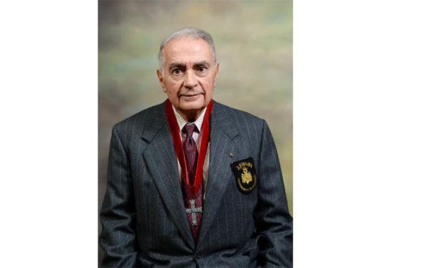George E. Safiol Presented with Nicholas J. Bouras Award