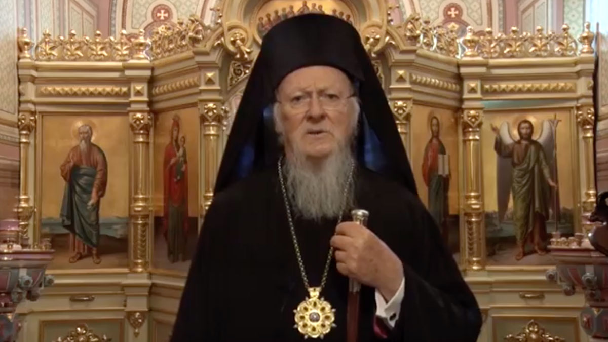 Message of His All-Holiness Ecumenical Patriarch Bartholomew Regarding  Covid-19 - Hellenic News of America